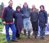 The Organising Team for the Native American Indian shamanism sweat lodge ritual ceremony