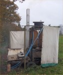 Field Shower Unit - these images available on CD T-shirt or mug or as printed photo